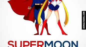 Supermoon! Paling Hampir sepanjang 68 Tahun Yang Lalu
